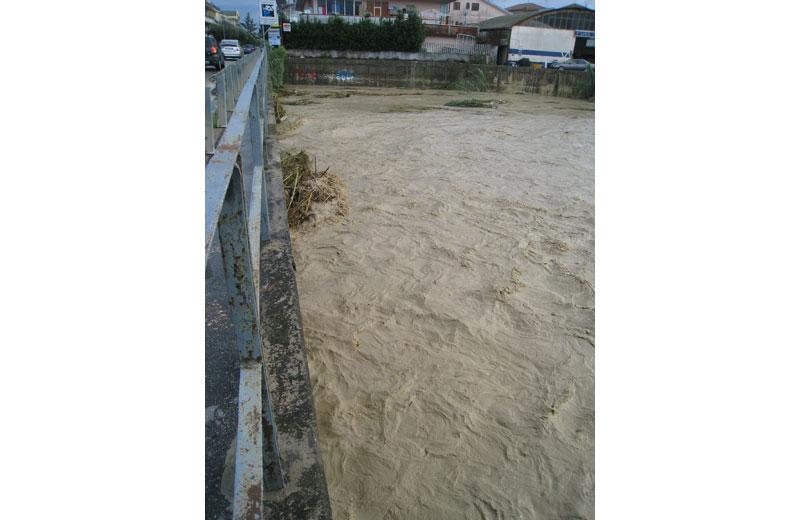 Il torrente Vibrata 14 settembre 2012