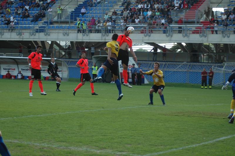 Il terzo gol di Shiba dopo un'ottima elevazione (Foto Giammusso)