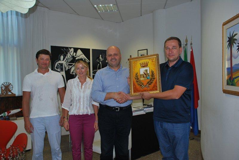 Incontro con delegazione di Rivne
