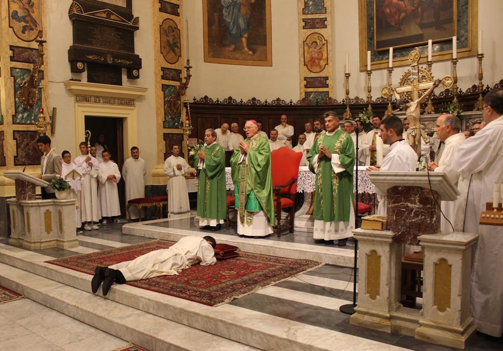 L'ordinazione di Gianni Capriotti alla parrocchia di San Benedetto Martire
