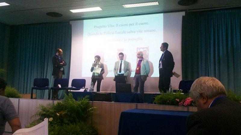Luca Spadoni al premio e-gov