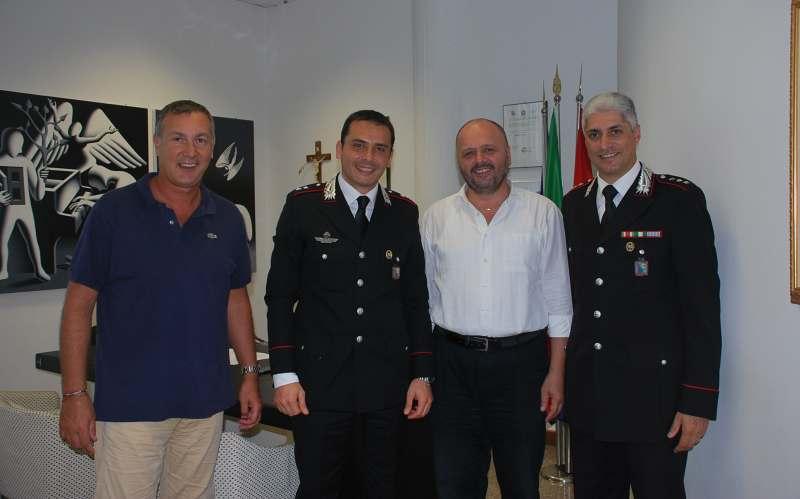 Marco Calvaresi, Saverio Loiacono, Giovanni Gaspari e Giancarlo Vaccarini