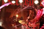 Marco Lanciotti alla batteria concerto metal