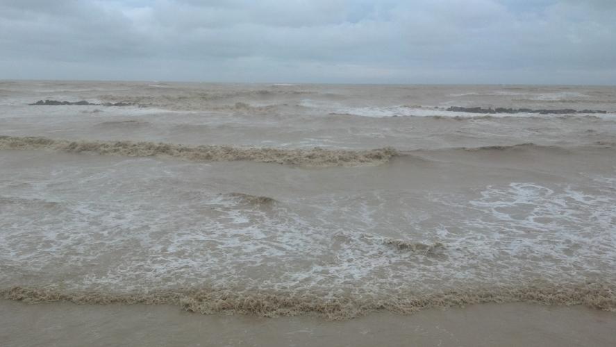 Mareggiata violentissima su San Benedetto, 14 settembre 2012