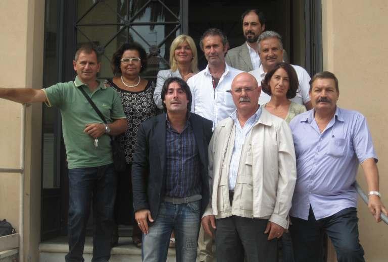 Maria Grazia Concetti e il gruppo Pdl che rappresenta
