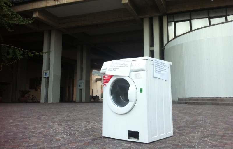 Protesta della lavatrice 2