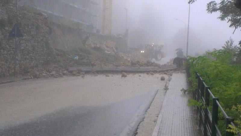 Ripatransone, crolli a causa del maltempo 14 settembre 2012