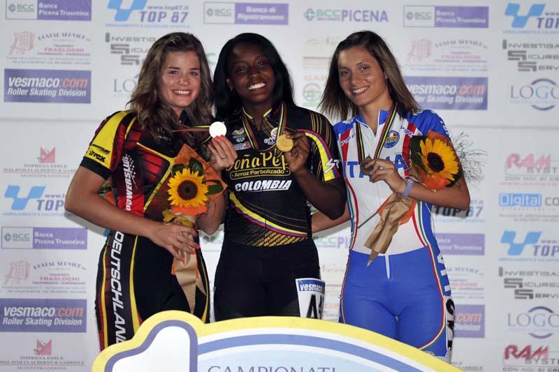 Sofia D'Annibale bronzo ai mondiali di pattinaggio
