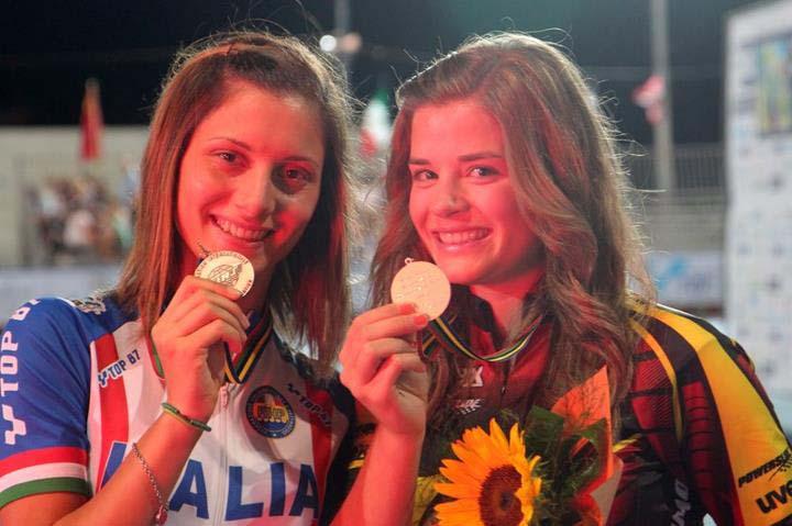 Sofia D'Annibale medaglia ai mondiali di pattinaggio