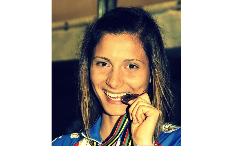 Sofia D'Annibale, tre medaglie ai Mondiali di Pattinaggio