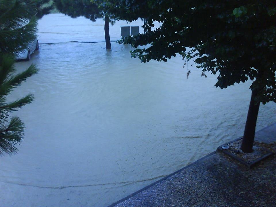 Via Monte Conero allagata 14 settembre 2012 (Alberto P.)