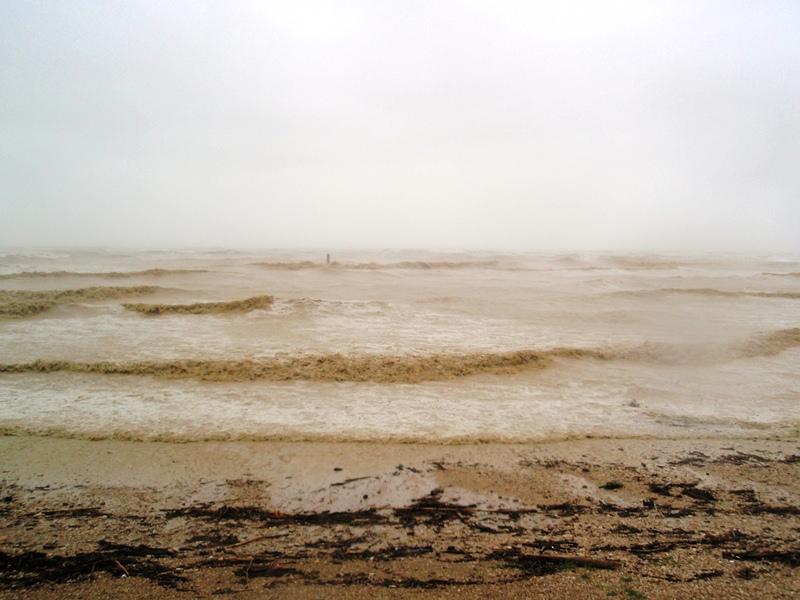 Violenta mareggiata Riviera delle Palme 14 settembre 2012  (7) Lucio Felicioni