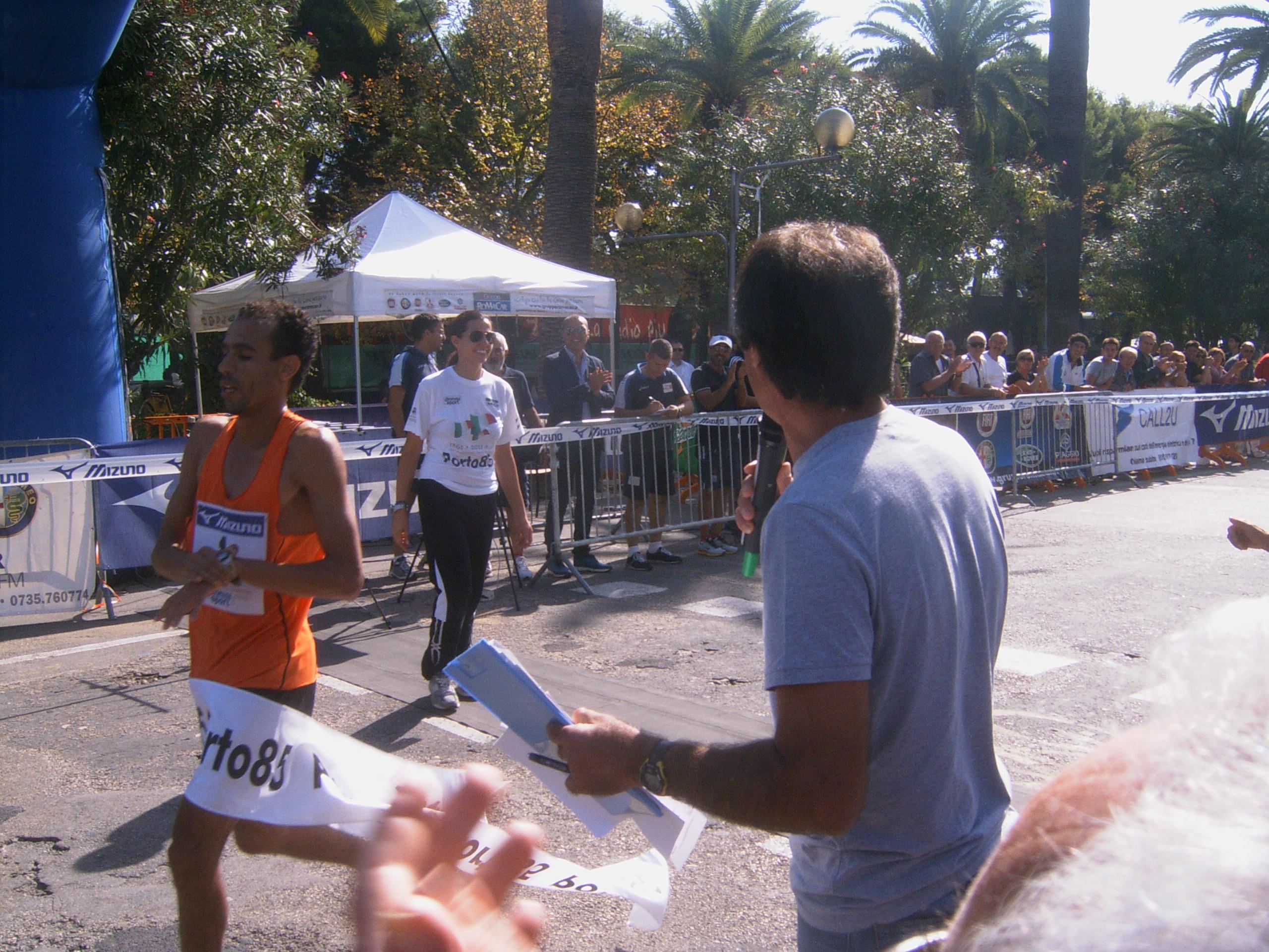 Maratona Ascoli-San Benedetto, il vincitore Laalami