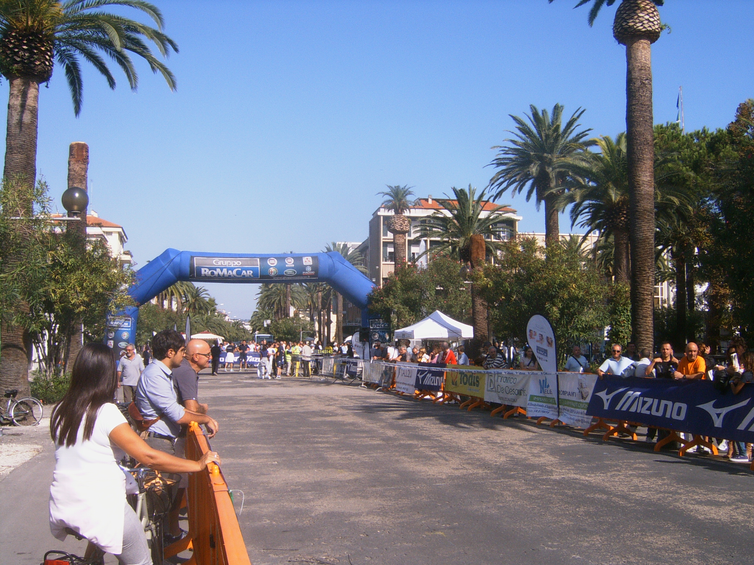 Maratona Ascoli-San Benedetto, l'arrivo