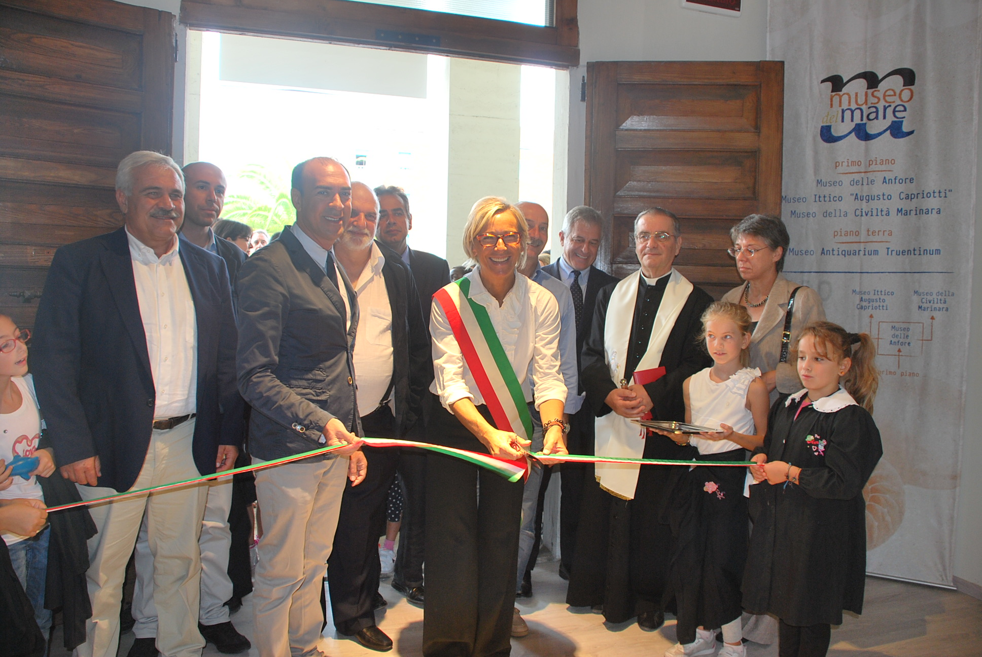 Inaugurazione dell'Antiquarium Truentinum