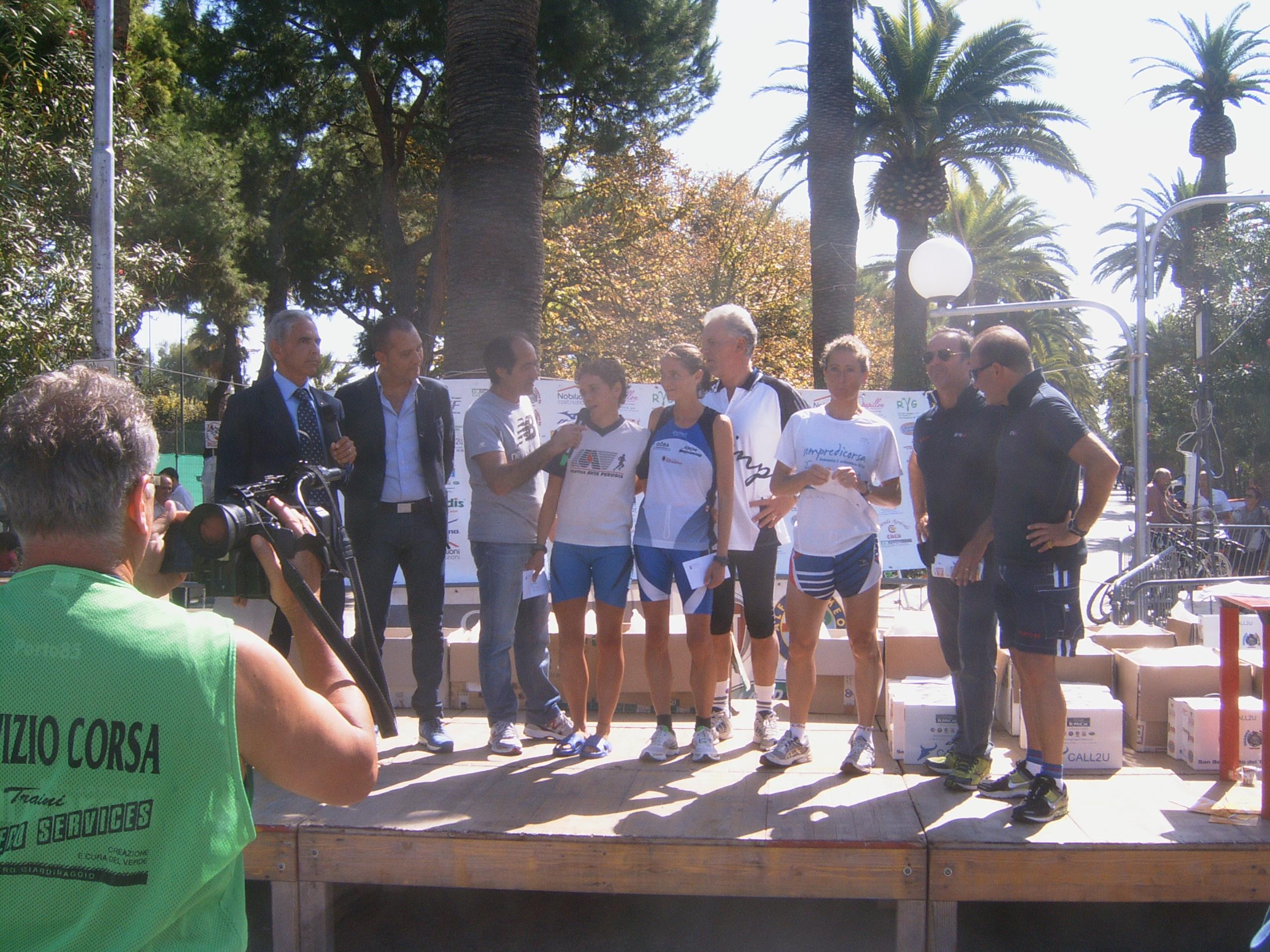 Maratona Ascoli-San Benedetto, il podio femminile