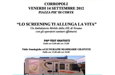 Il Camper rosa a Corropoli