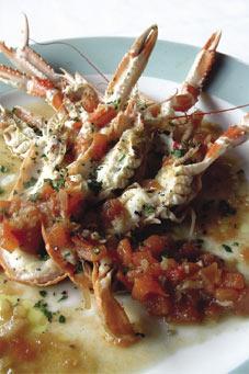 Un bel piatto di scampi (da www.alberghiera.it)