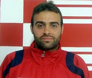 Gianluca Di Lorenzo,attaccante del Porto d'Ascoli, ai tempi del Pagliare