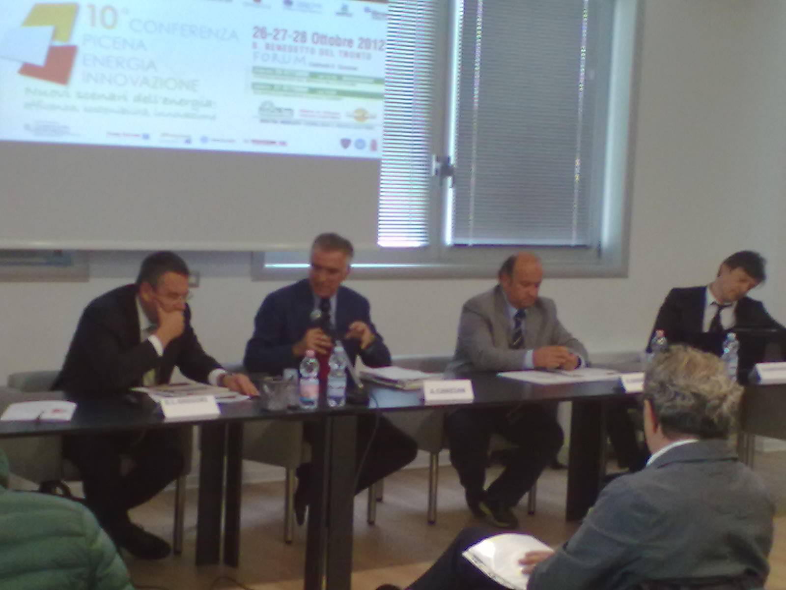 Conferenza nuove energie 2012
