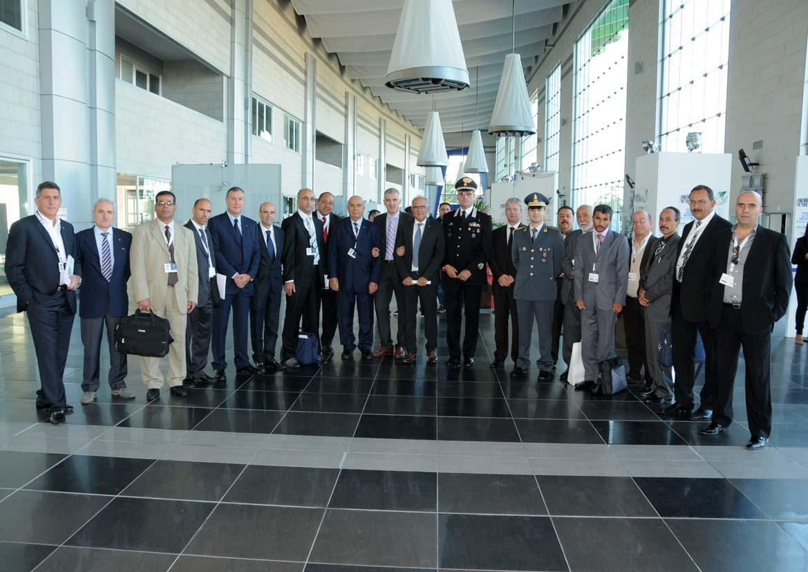 Il gruppo di Expo Piceno 2012 al Forum di San Benedetto