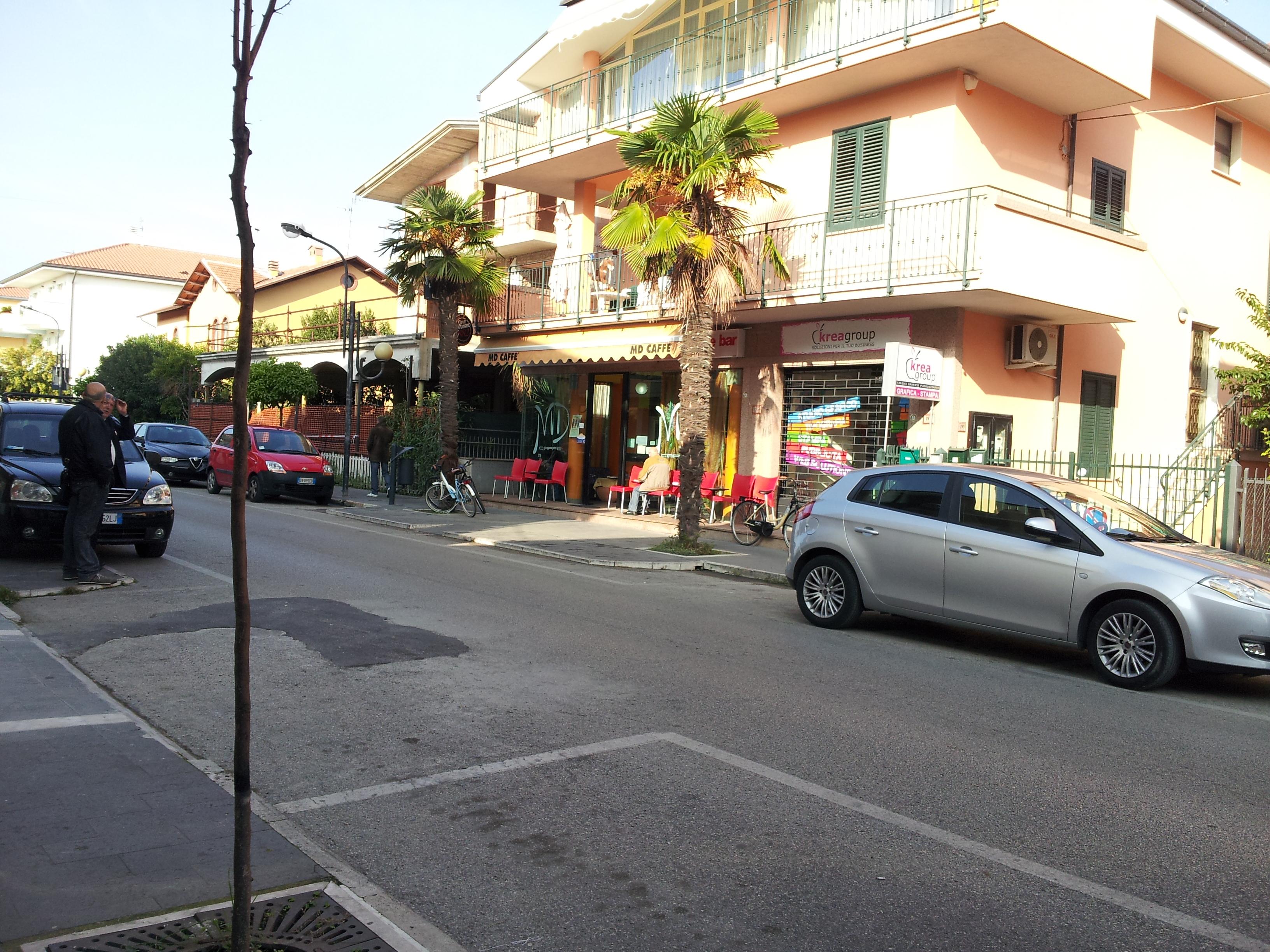 Alba Adriatica, la via dove è avvenuta la sparatoria