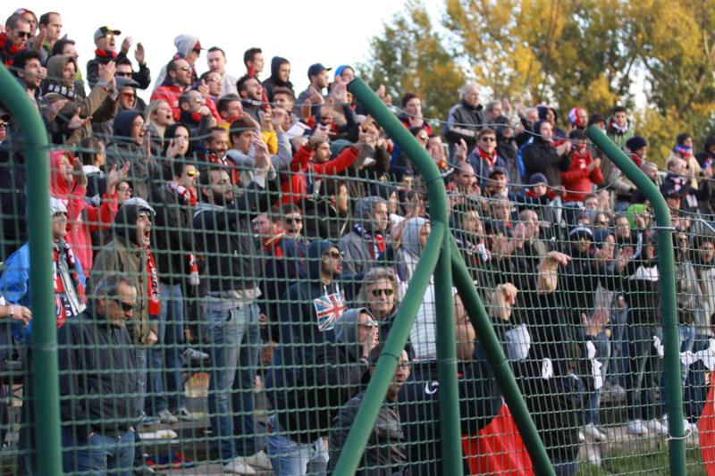 Tifosi rossoblu, foto Bianchini