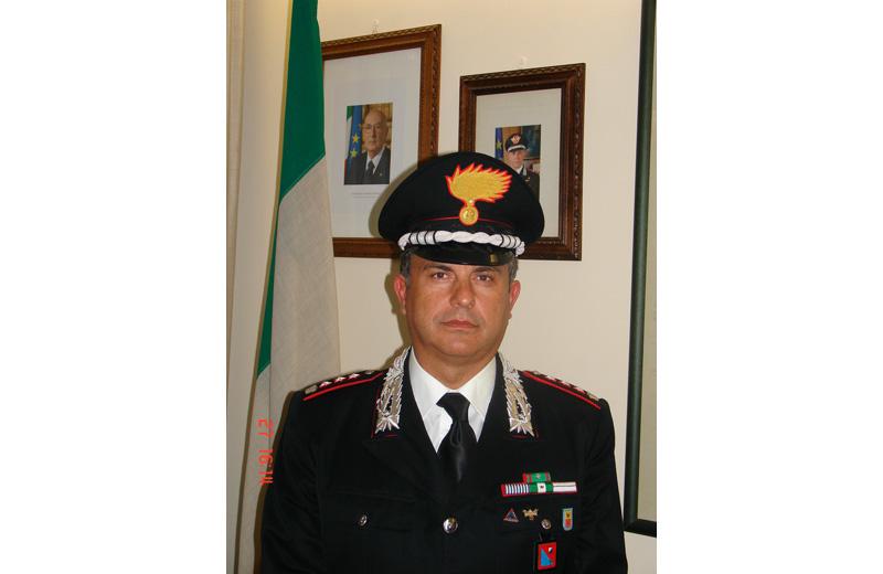 Il tenente colonnello Giovanni Tosti