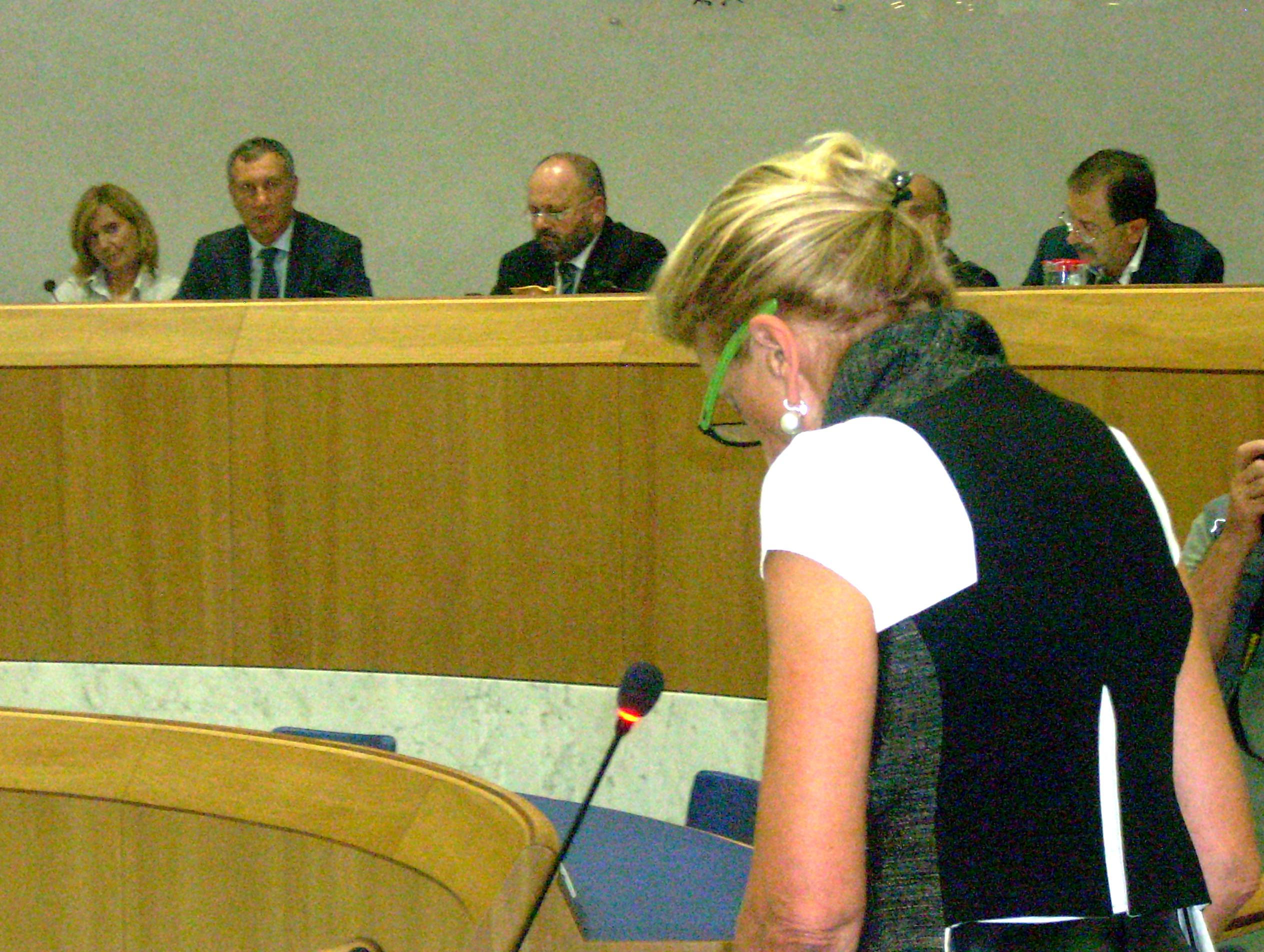 Consiglio Comunale, Loredana Emili