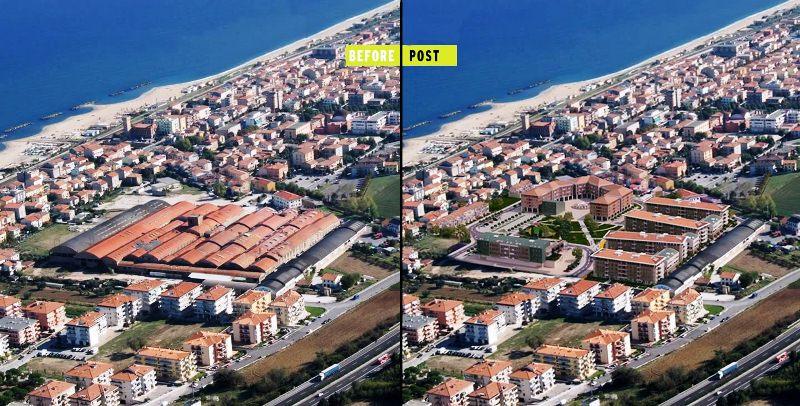 Ecocittà prima e dopo