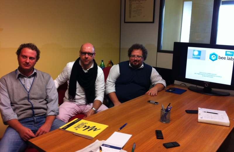 Giuseppe Cavallo, Andrea Perugini, Fabio Curzi
