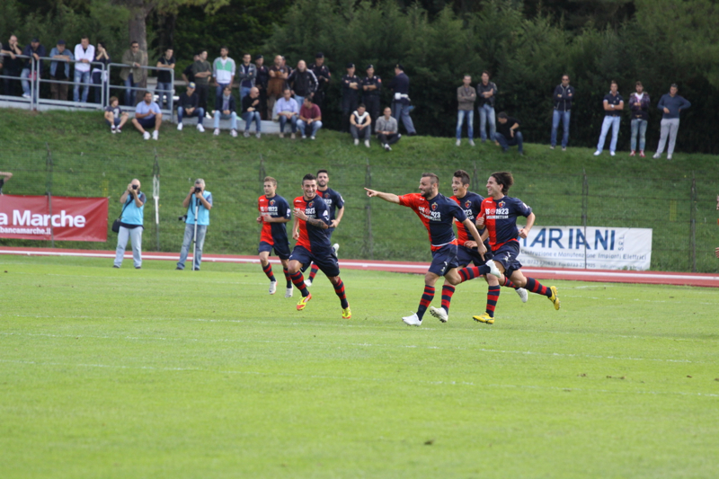Maceratese - Samb 0-3, Napolano (Bianchini)