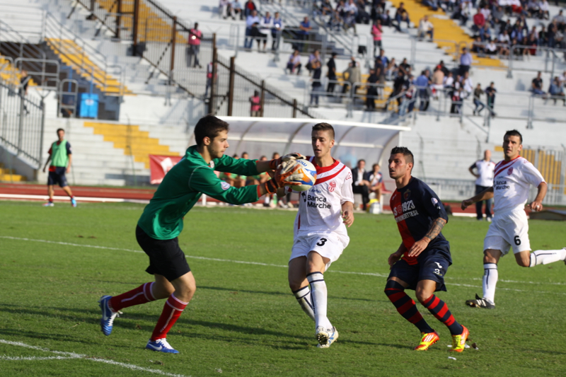 Maceratese - Samb 0-3, Barbetta (Bianchini)