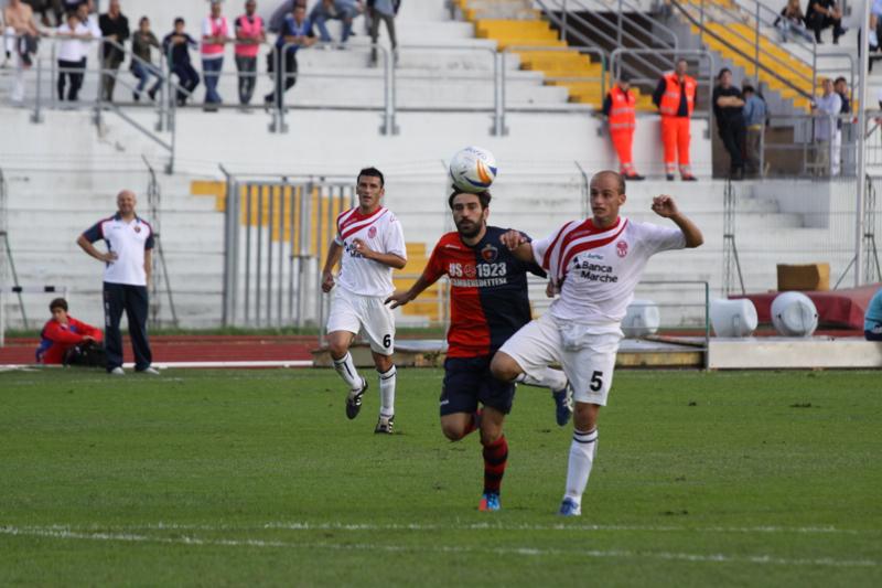 Maceratese - Samb 0-3, Pazzi in azione (Bianchini)