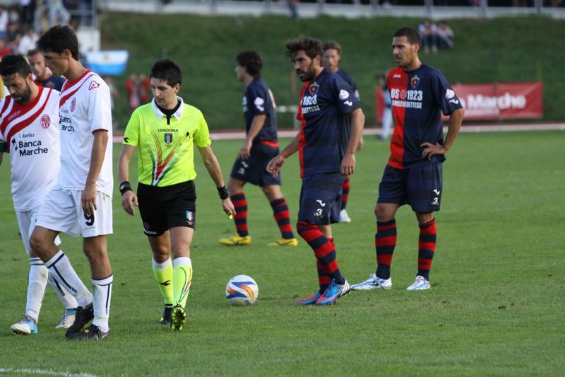 Maceratese - Samb 0-3, Pazzi (Bianchini)