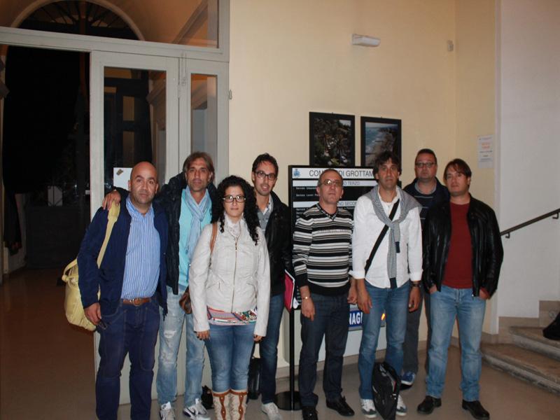 Associazione Stampa Rossoblù con Bruno Talamonti e Pietro Cristafulli
