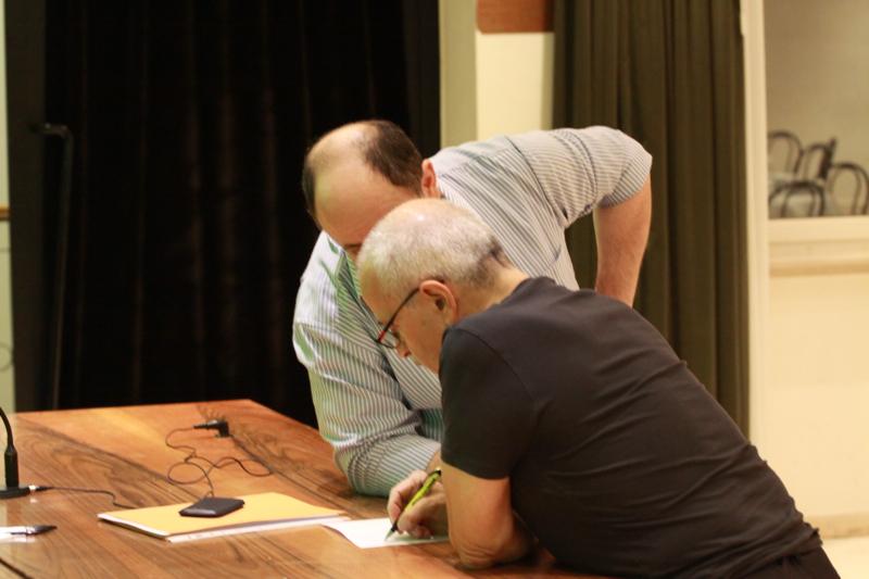 Lino Rosetti e Franco Marconi