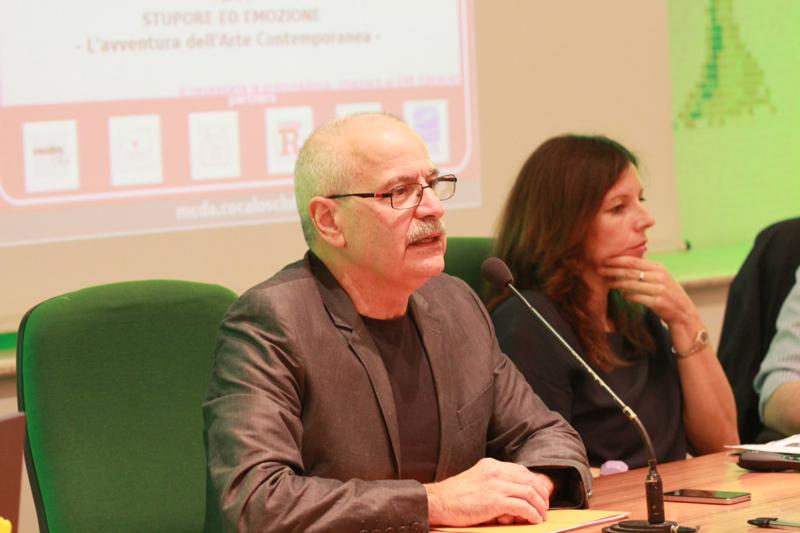 Lino Rosetti, presidente del Marche Centro d'Arte