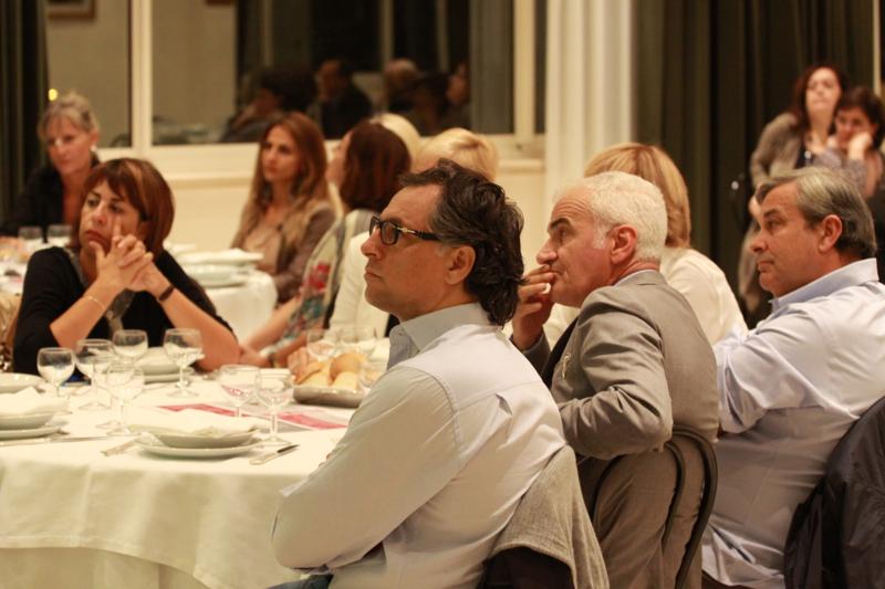 I partecipanti alla cena incontro