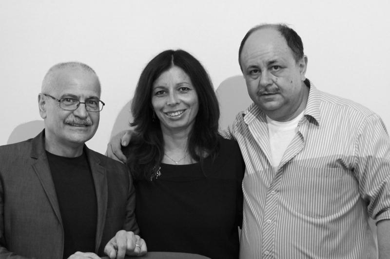 Lino Rosetti, Gloria Gradassi e Franco Marconi