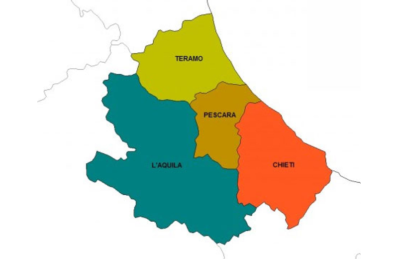 La regione Abruzzo