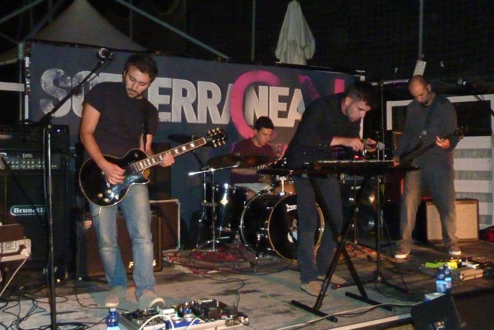 I Julian Mente, vincitori dell'edizione 2012 di Sotterranea Rock Festival