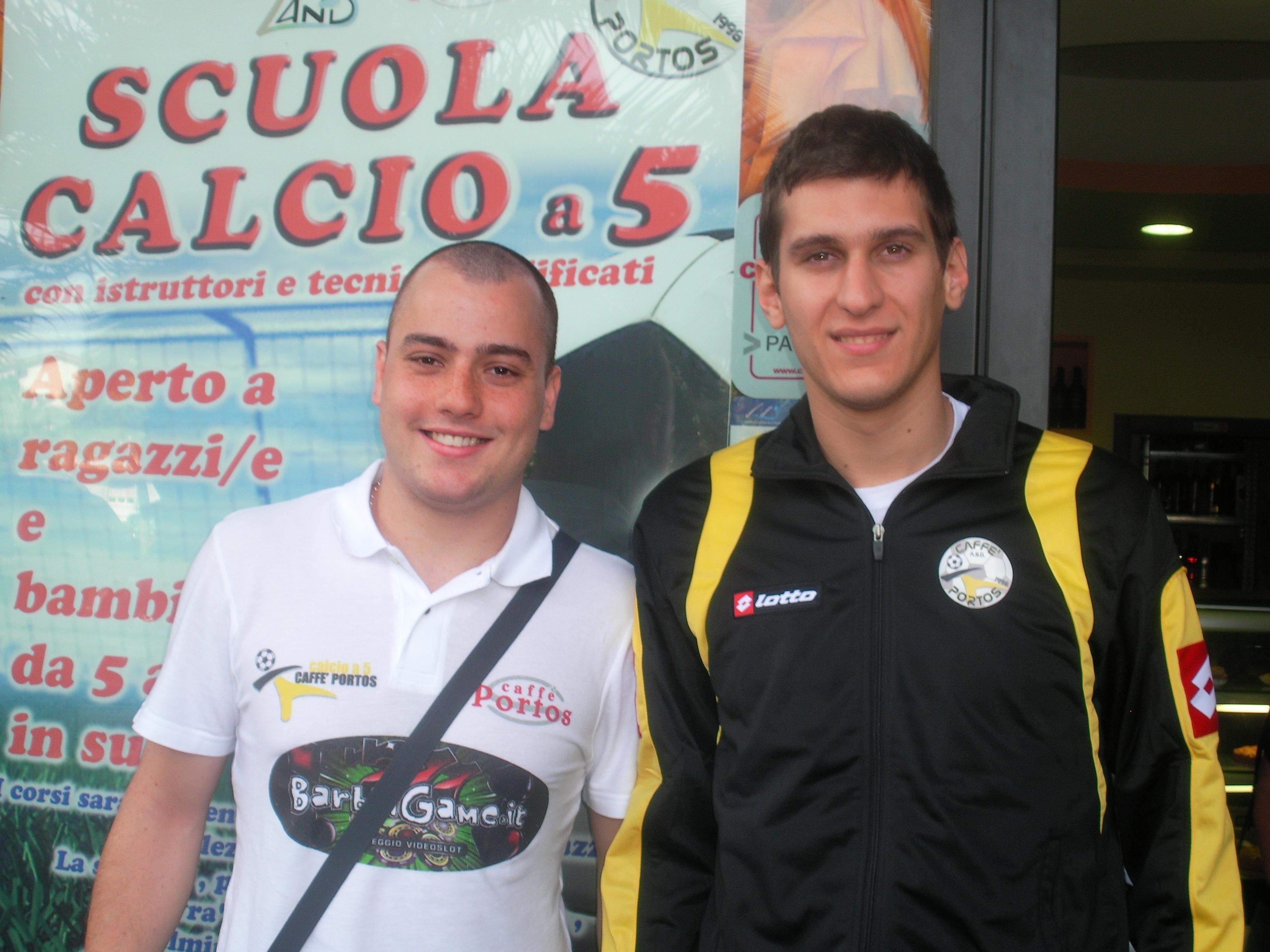 Felipe Freire e Simone Felicetti