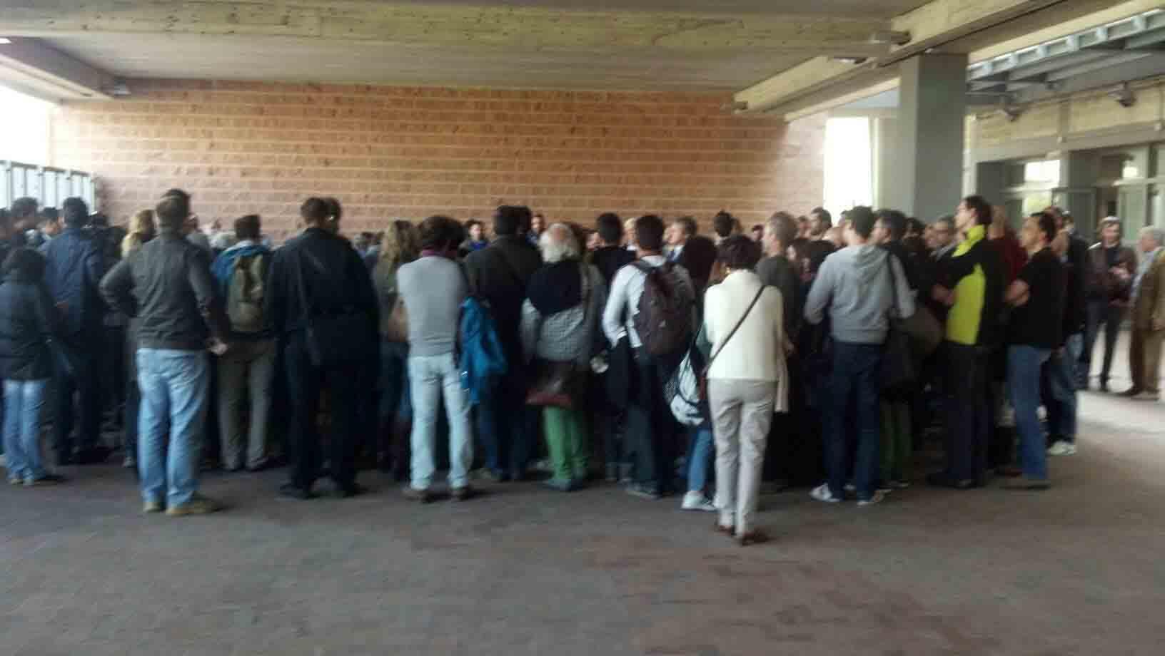 Rimini 105 Stadium, l'incontro degli attivisti 2