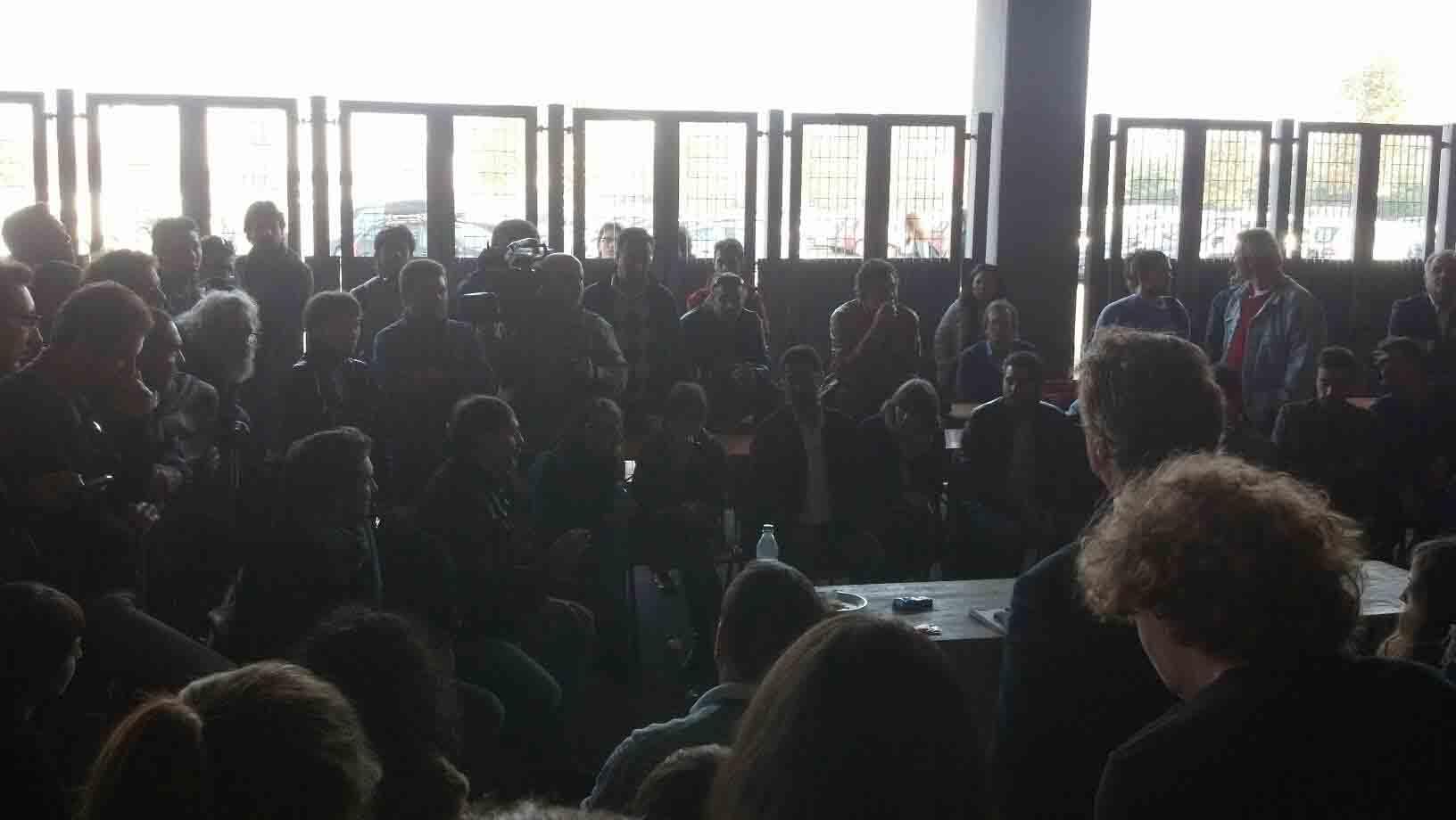 Rimini 105 Stadium, l'incontro degli attivisti 3