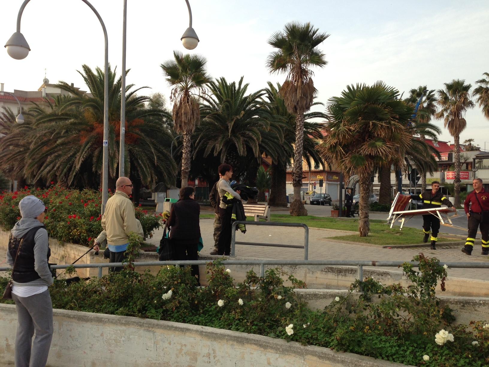 San Benedetto, sventato un tentato suicidio, 26 ottobre 2