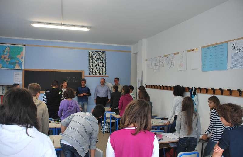 Sopralluogo Scuola Curzi