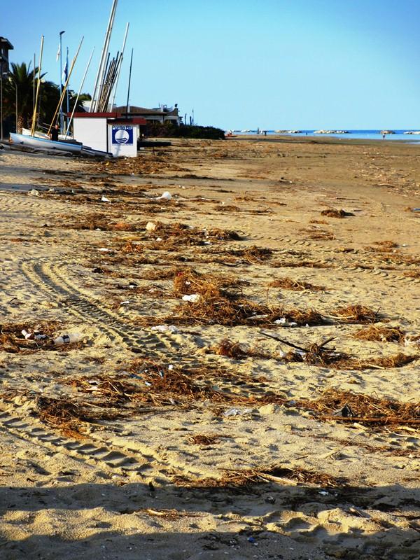 Spiaggia fronte Cata Marà e hotel la Perla  (2)