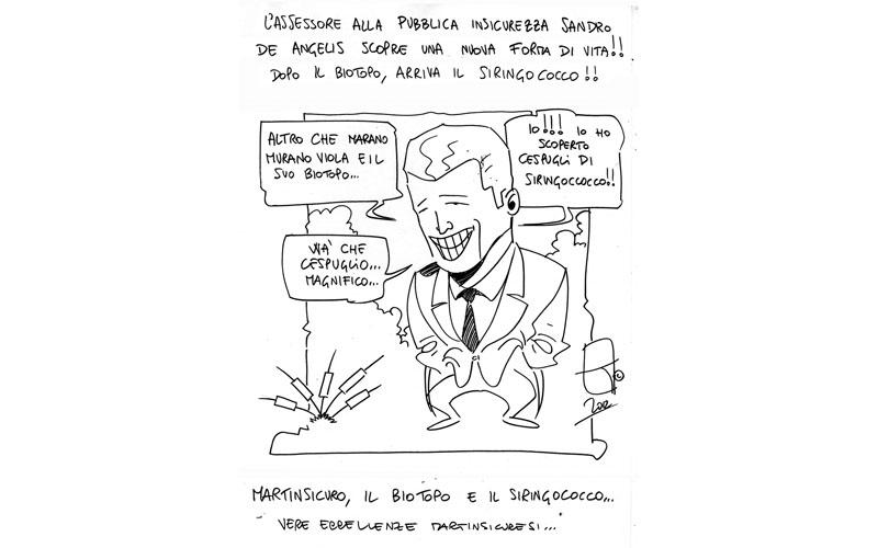 La vignetta di Martin Satira