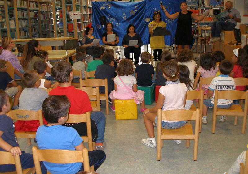 Lettura animata presso la Biblioteca Lesca